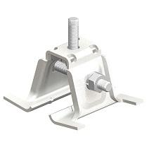 ハゼ式D_ラック工法用金具